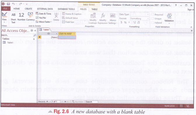 cbse-notes-for-class-8-computer-in-action-introduction-to-microsoft-access-2013-4