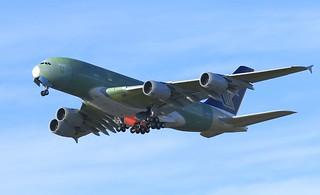 First flight msn253 F-WWAB 5/1/2018