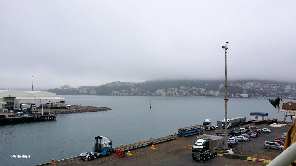 Wellingtonin satamassa, Uusi-Seelanti
