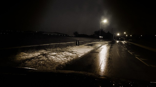 Gritted road
