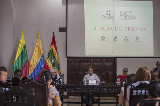 Rueda de prensa Cartagena 2017