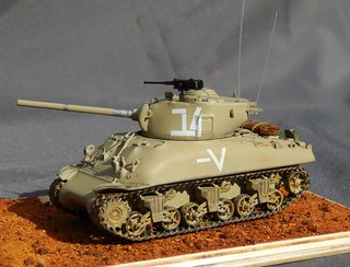 Trumpeter 1/72 M4A1 76 IDF | by Theuns v V