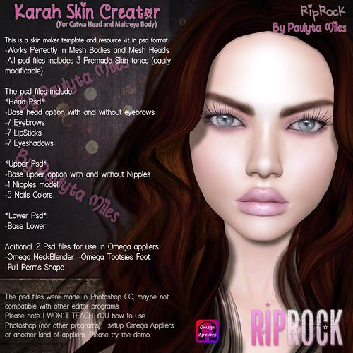 RipRock - Yona Skin Creator Vendor