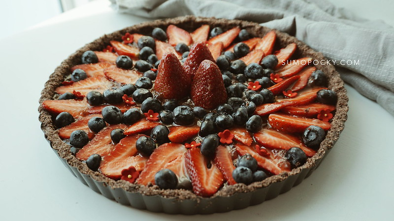Vegan Chocolate Tart