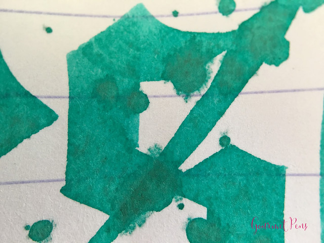 Ink Shot Review J. Herbin Vert Réséda @KnightsWritingC 9