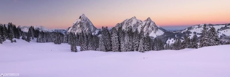 Winter Panorama - Mythen