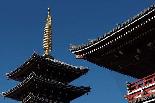 Sensoji Five-storied pagoda