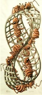 Mobius Strip II (Red Ants) (1963) - Maurits Cornelis Escher (1898 - 1972)
