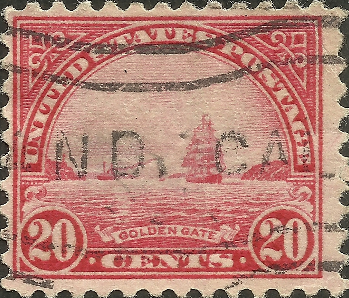 United States - Scott #567 (1923)