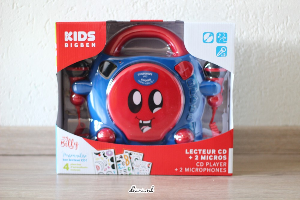 Bigben Kids karaoke CD-spelers