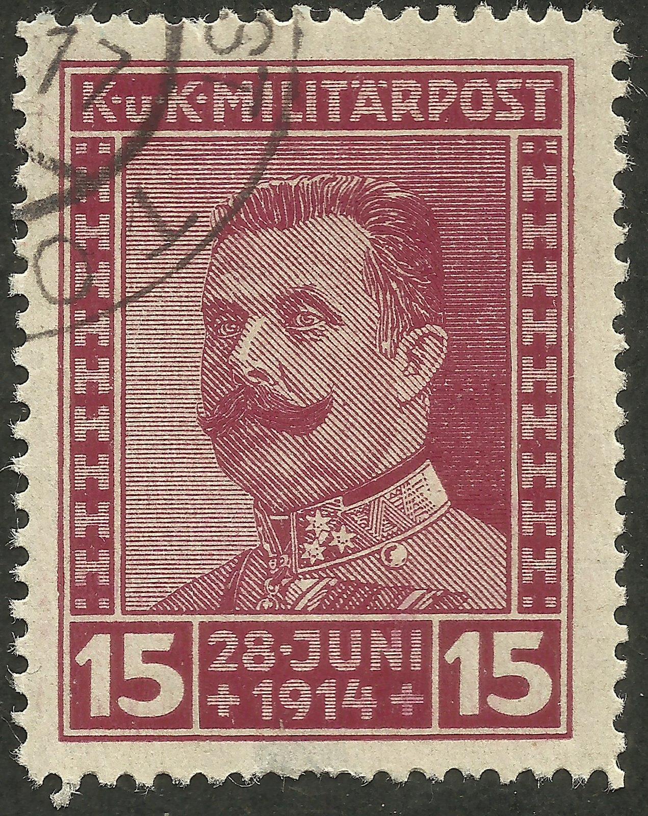 Bosnia and Herzegovina - Scott #B14 (1917)