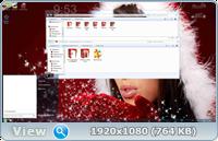Скачать Windows 7 SP1 8 in 1 KottoSOFT (x86x64) Новогодняя
