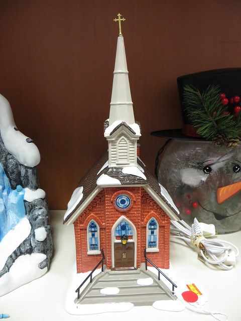 Christmas Village Church