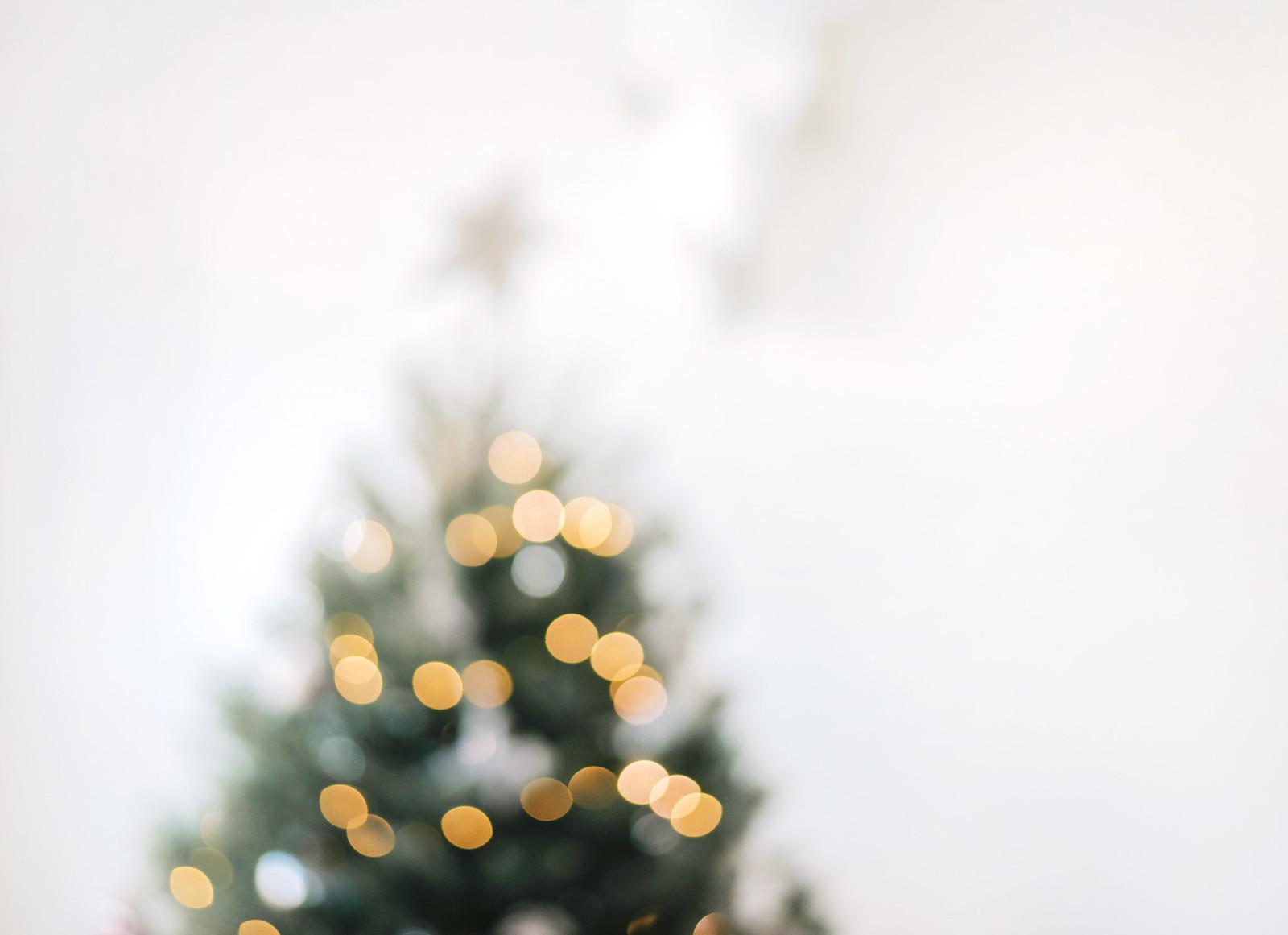 Christmas Tree Bokeh on juliettelaura.blogspot.com