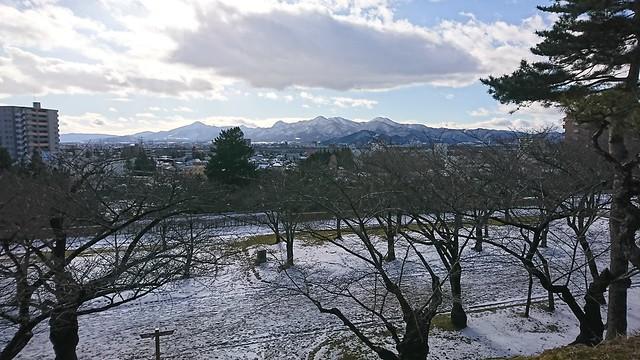 Morioka City, from Morioka Castle Site Park