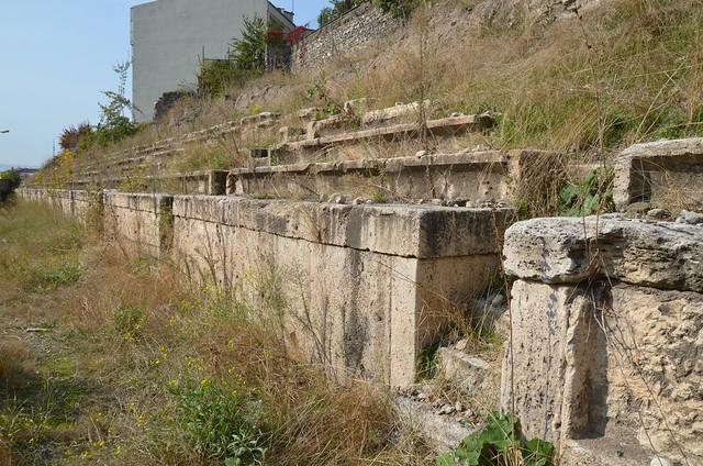 Stadium of Claudiopolis/Hadriana, Bolu, Turkey