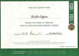 Certificate-Jameson-Rich