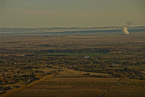 benton county wa view from badger mountain