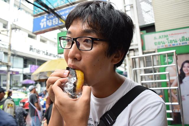 焼きバナナほっくり甘い