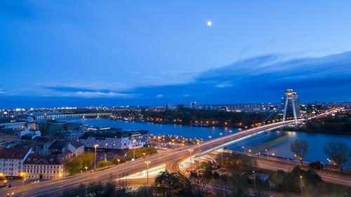 Crossing Danube River