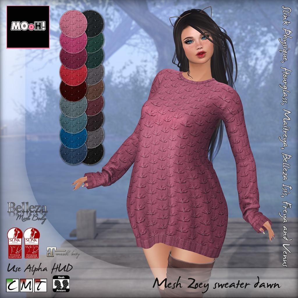 Zoey sweater dawn - TeleportHub.com Live!