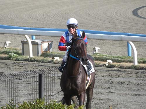 金沢競馬場の松戸政也騎手