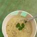 Leek and potato soup.