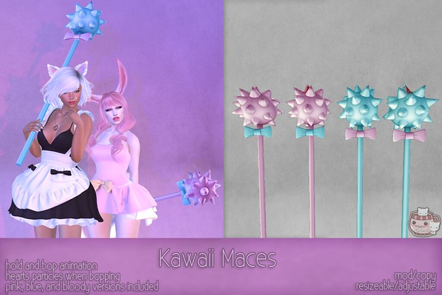 c( TC ) Kawaii Maces poster