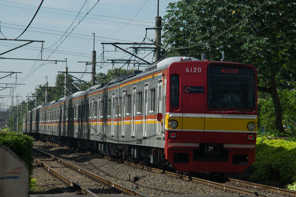 Tokyo Metro 6000 ( 6020) ;RedLine;Duren Kalibata