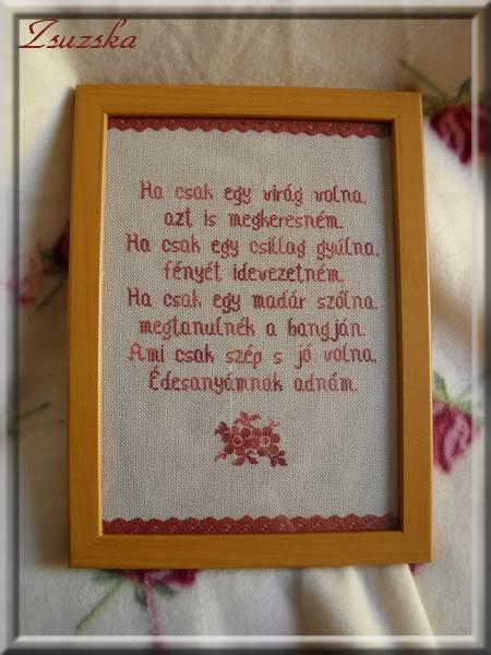 cross stitch, mother day