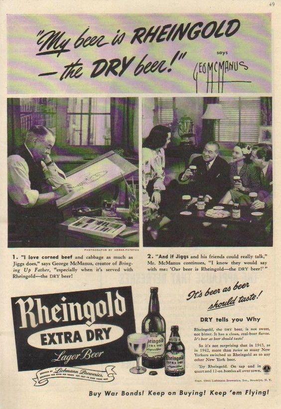 1944-Rheingold-beer-George-McManus