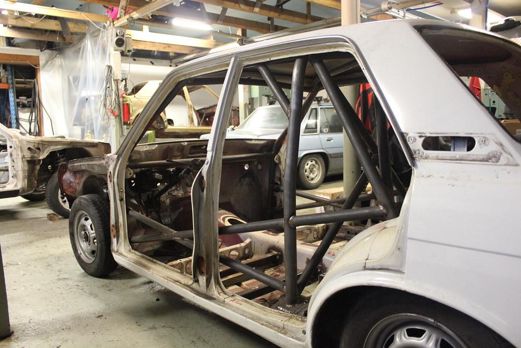 Japrnoo: Datsun 510 & EX Audi S3 24690760587_612727a82b_b