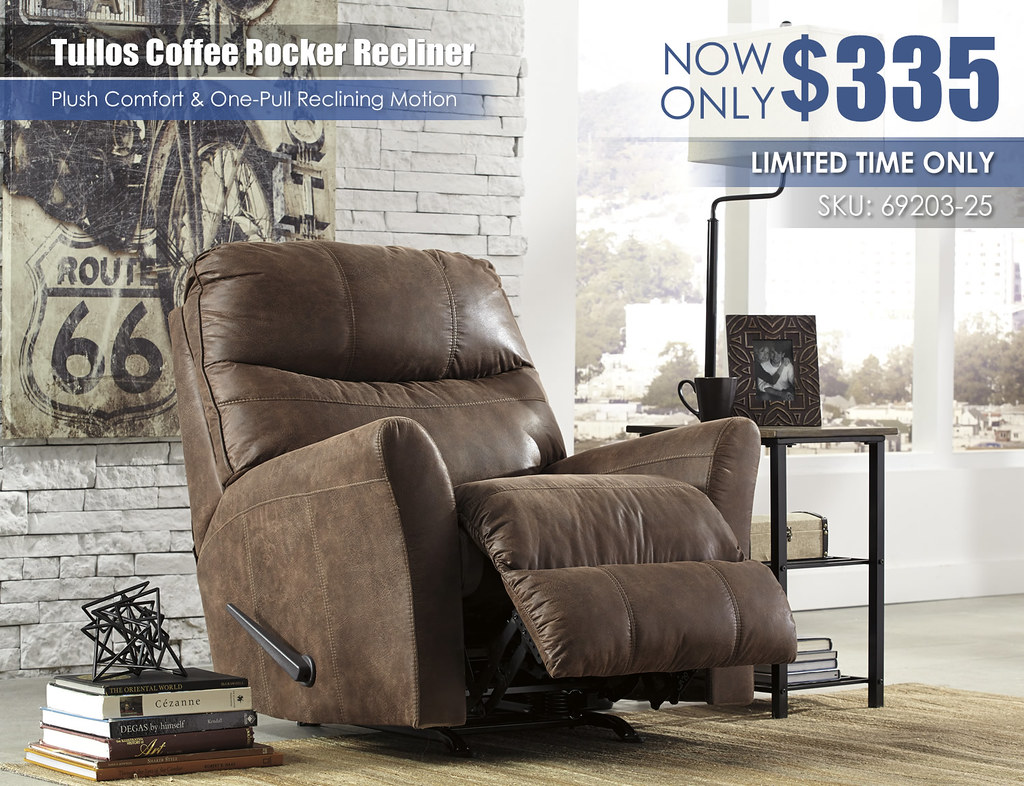 Tullos Coffee Rocker Recliner 69203_LimitedTime