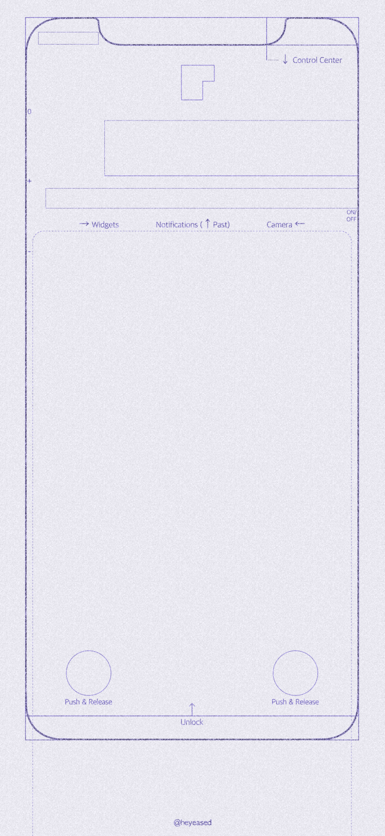 Free Download New Designed Blueprint Wallpaper For Iphone X