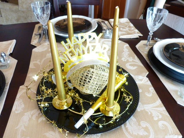 Happy New Year Tablescape at From My Carolina Home