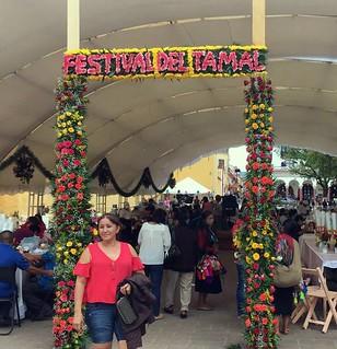Festival de Tamal sign 1