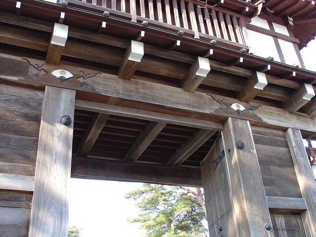 The gate of Kubota Castle (久保田城表門)