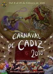 Cartel Carnaval Cádiz 2018 Ganadores