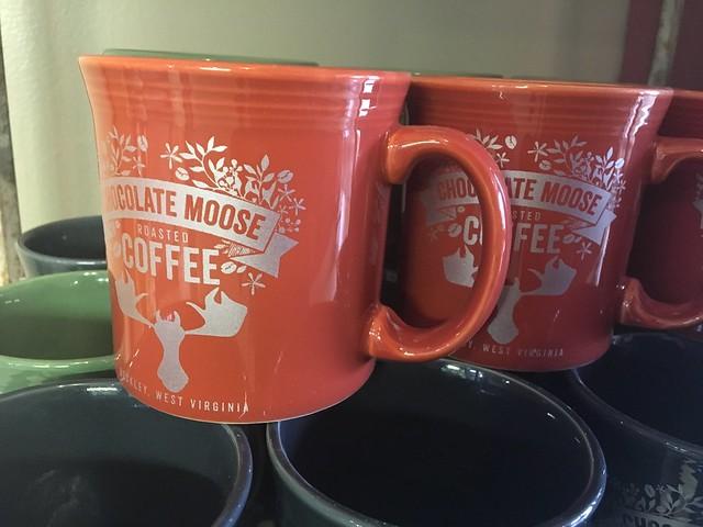 Chocolate moose coffees