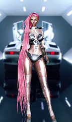 Cyber Barbie .
