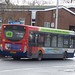 Buses on Mill Street, Bedworth - Stagecoach on the 48
