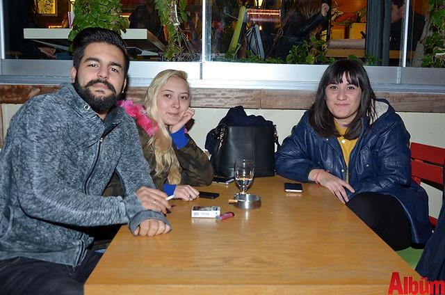 Ali Türhan, Simay Avara, Şevval Gökgül