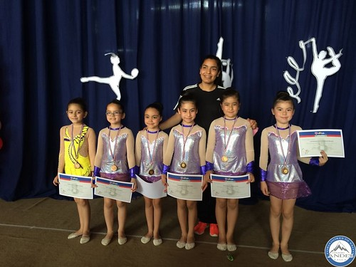 Torneo de Gimnasia Rítmica en Colegio La Salle