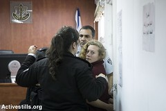 Ahed Tamimi's court hearing, Ofer military court, West Bank, 20.12.2017
