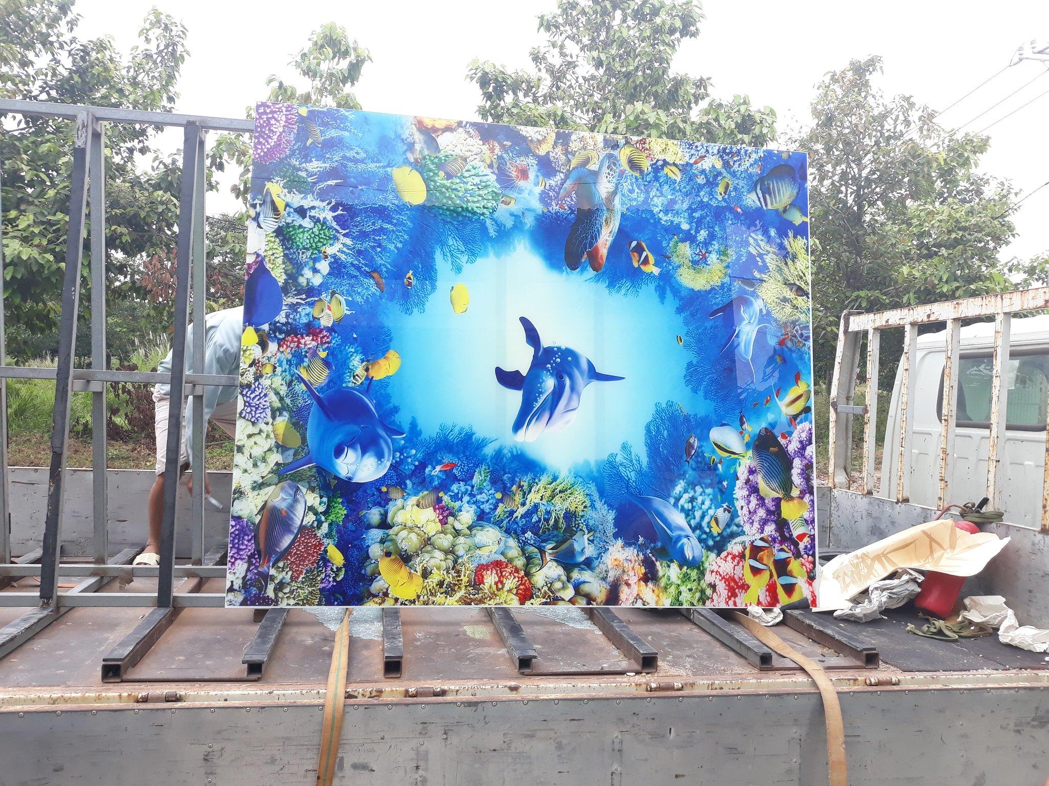 Xưởng in tranh kính tại Sài Gòn : inGiaHung.net