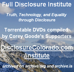 Disclosure Legally Torrentable DVDs - DisclosureColorado.com