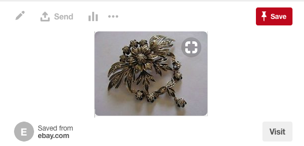 Fake Georgian brooch