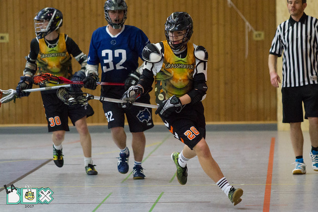 LaBox 2017 Herren Göttingen Lacrosse vs. Dortmund Wolverines