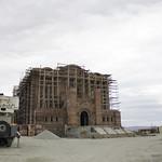 Рабочая встреча на строительной площадке Андреевского кафедрального собора в городе-курорте Геленджик