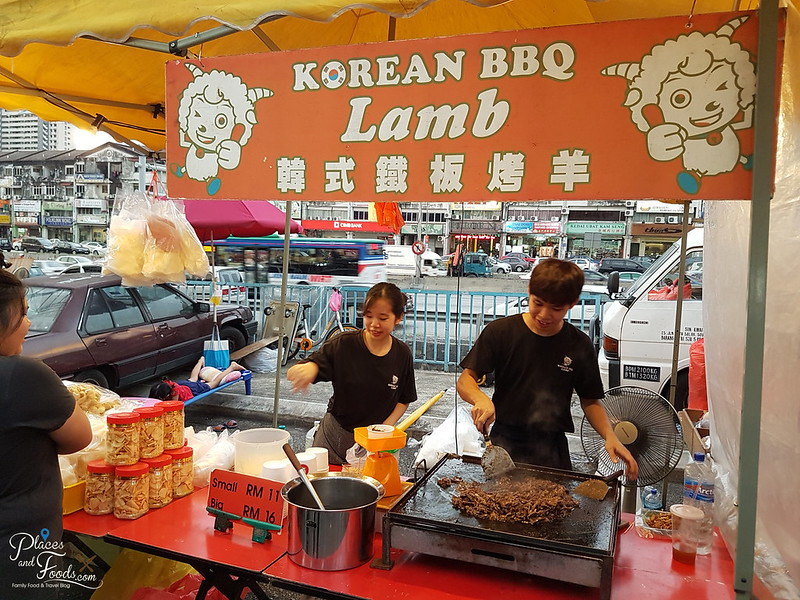 korean bbq lamb